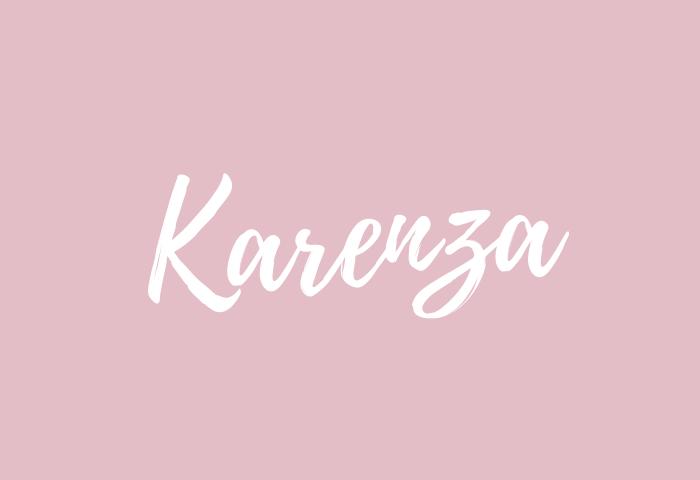 karenza name meaning