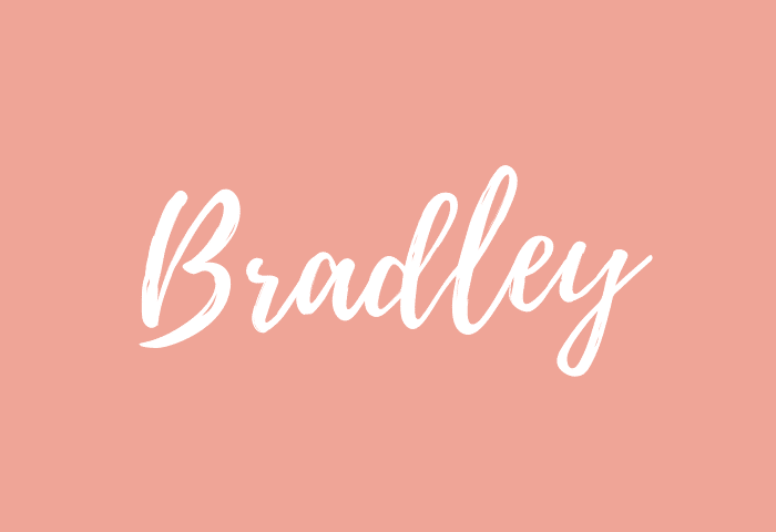 bradley name meaning