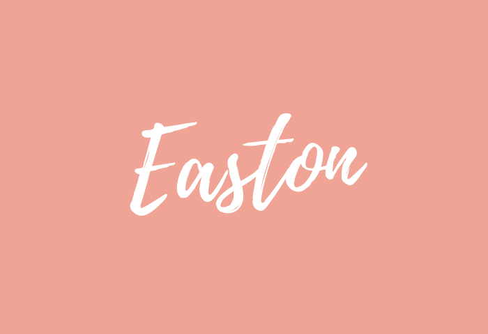 easton name meaning
