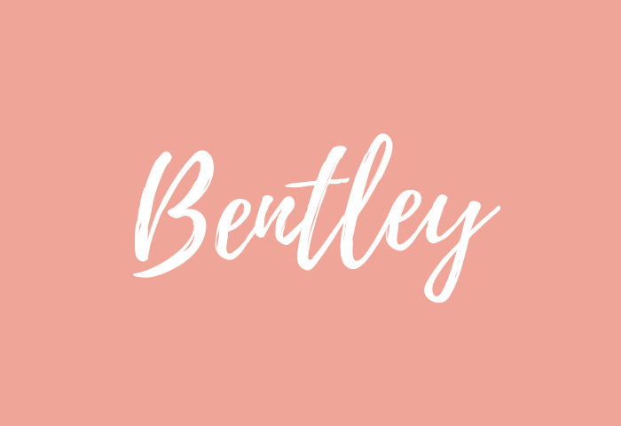bentley name meaning