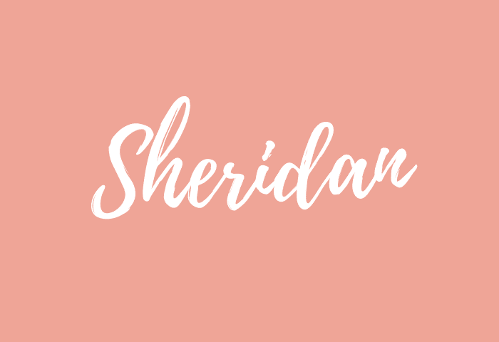 sheridan name meaning
