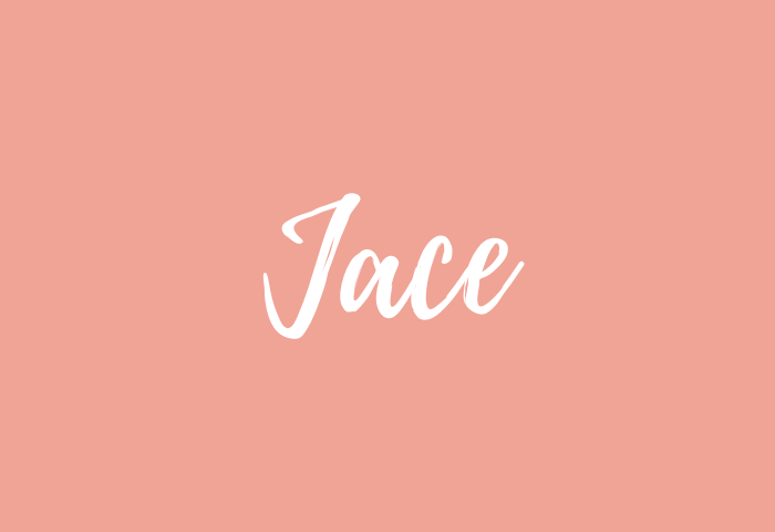 Jace Name Meaning