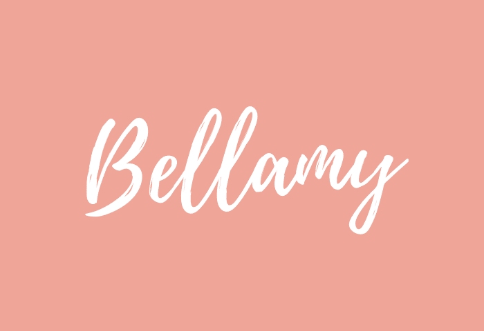 Bellamy Name Meaning