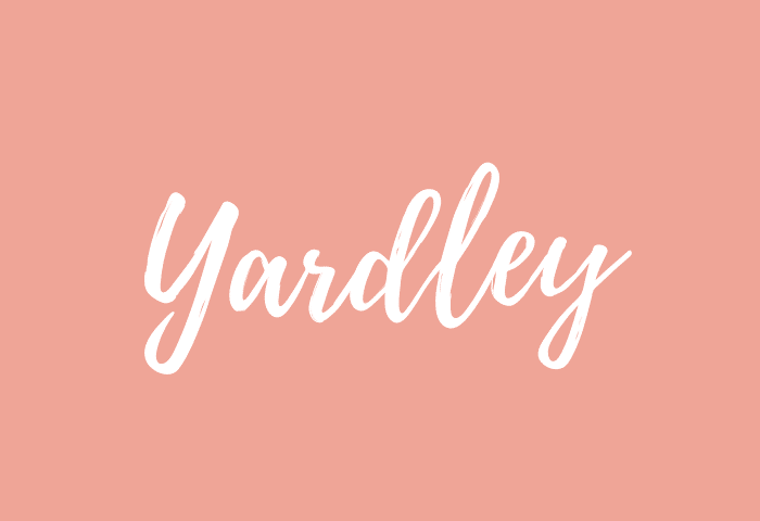 yardley name meaning