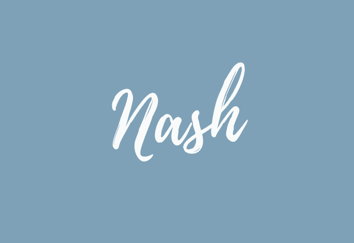 Nash name meaning