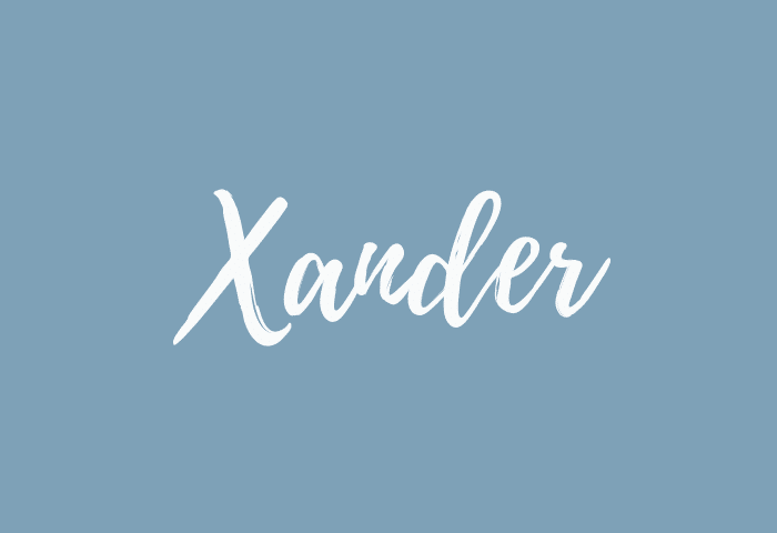 xander name meaning