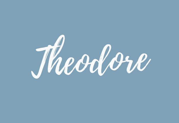 theodore name meaning