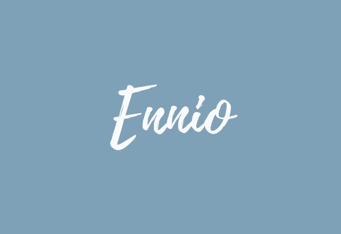 Ennio Name Meaning