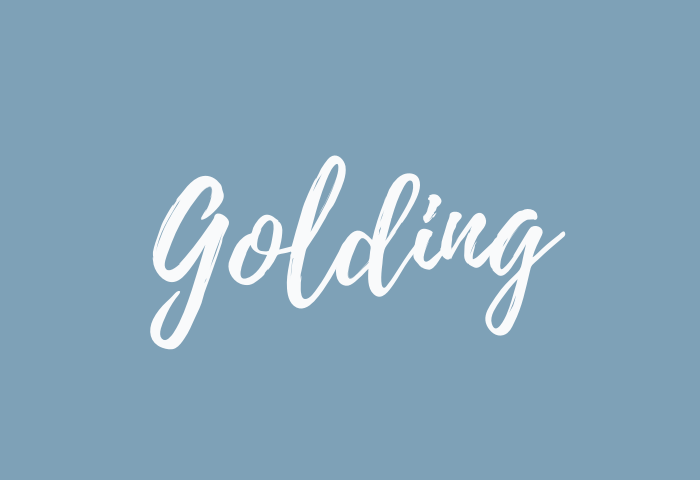 golding name meaning