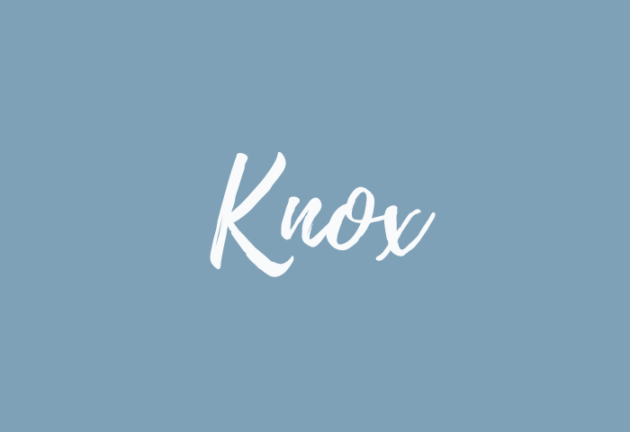 knox name meaning