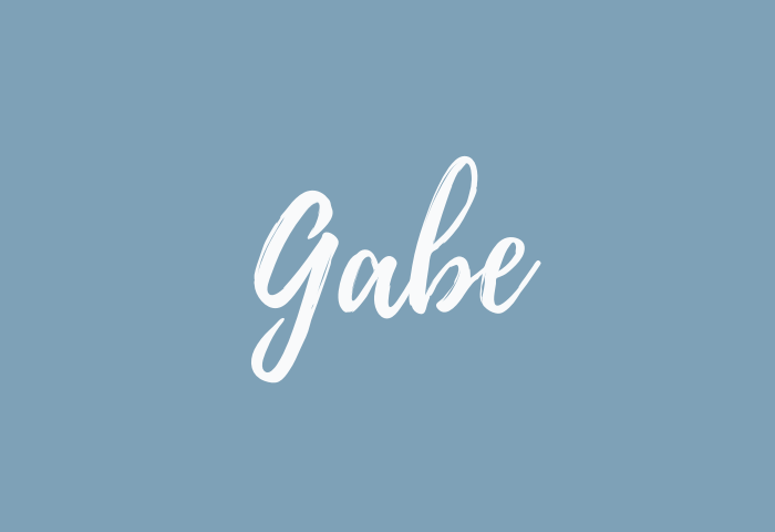 Gabe Name Meaning