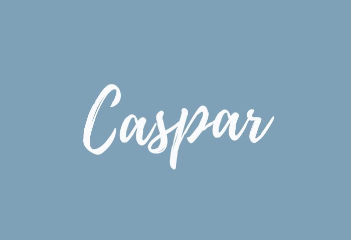 caspar name meaning