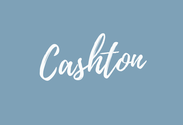 Cashton name meaning