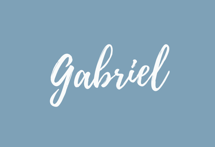 Gabriel name meaning