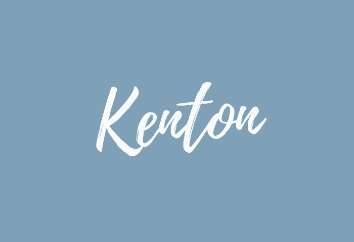 kenton name meaning