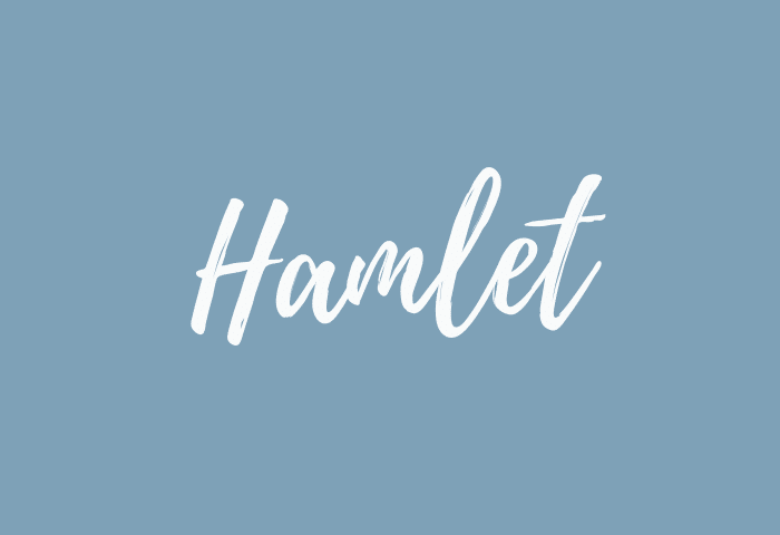 hamlet name meaning