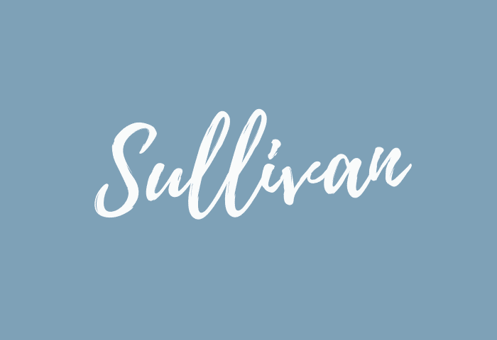 sullivan name meaning