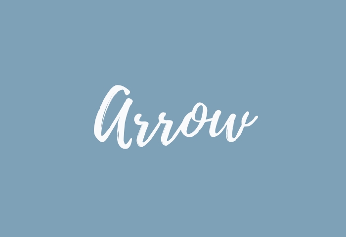 arrow name meaning