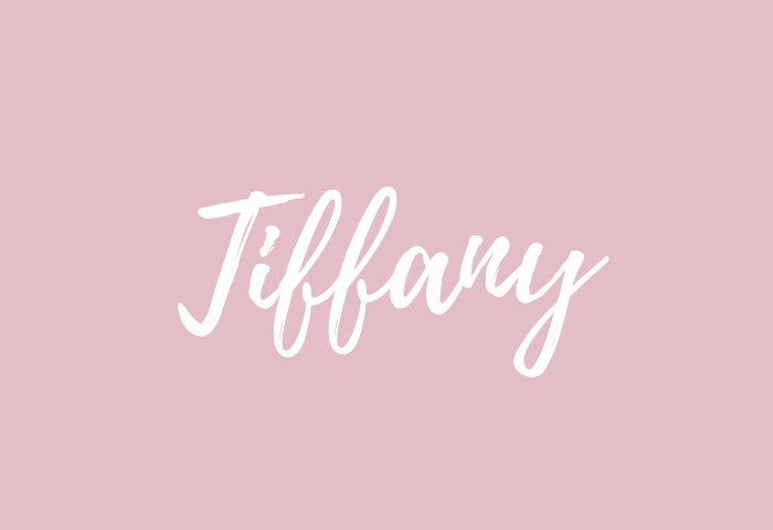 tiffany name meaning