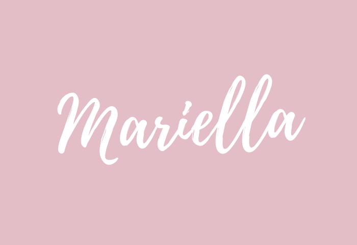 mariella name meaning