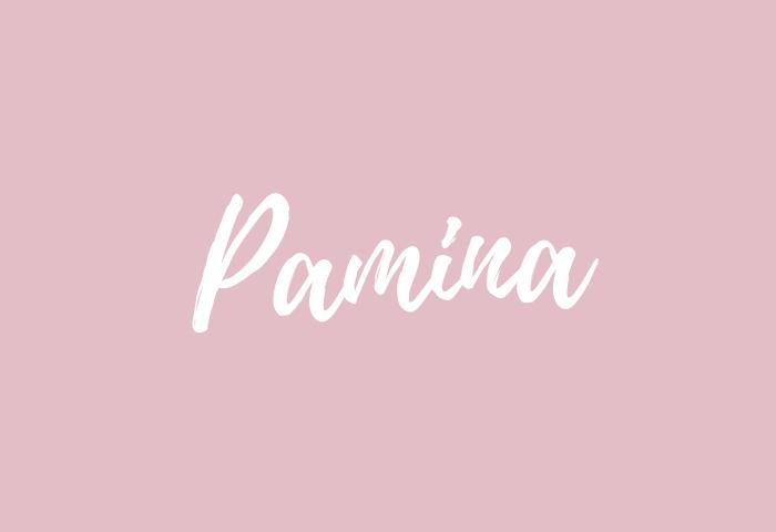 pamina name meaning