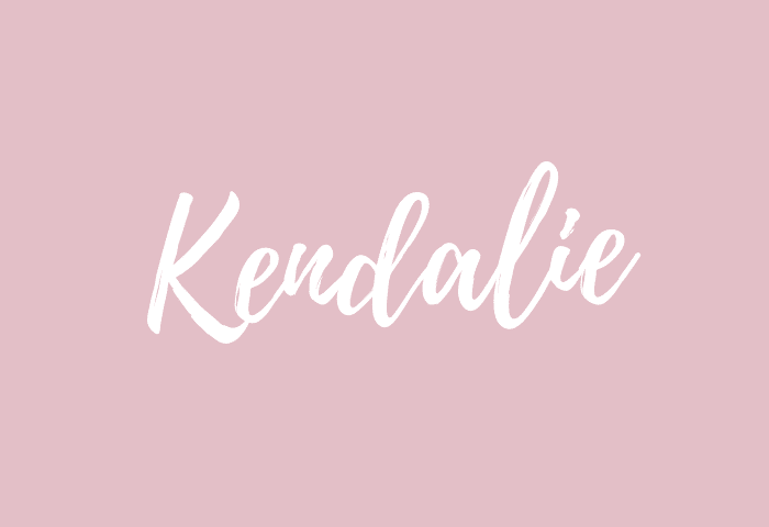 kendalie name meaning
