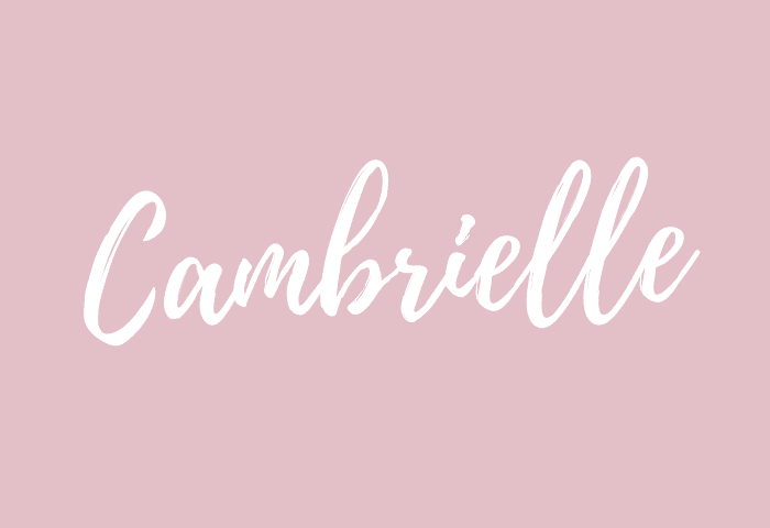cambrielle name meaning