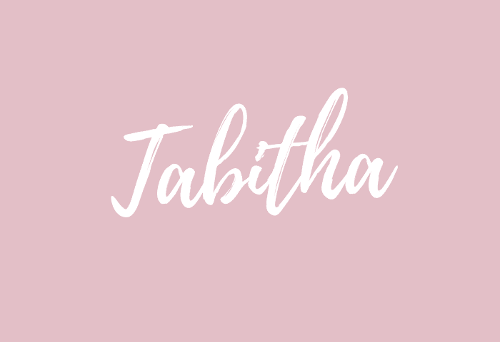 Tabitha name meaning