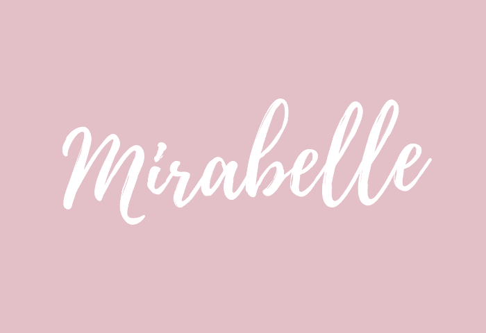 mirabelle name meaning