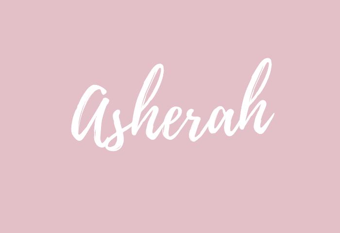 asherah name meaning