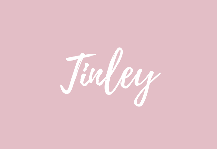 tinley name meaning