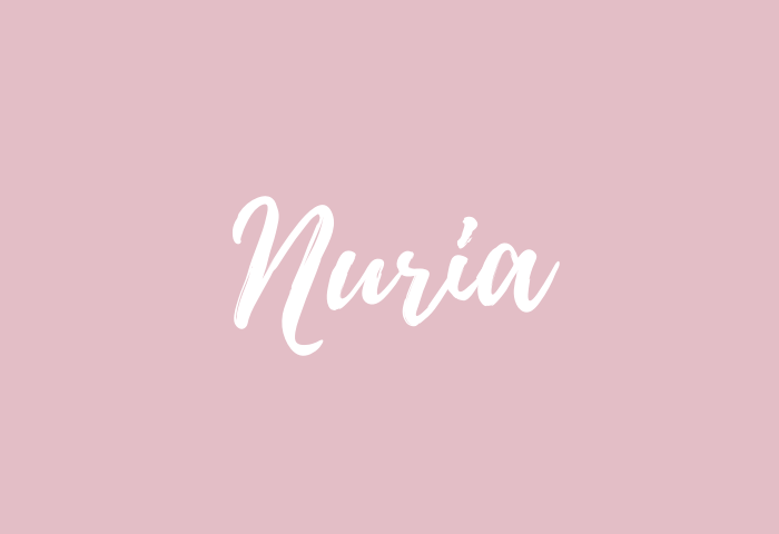 nuria name meaning