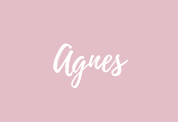 agnes name meaning