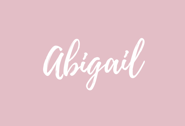 abigail name meaning