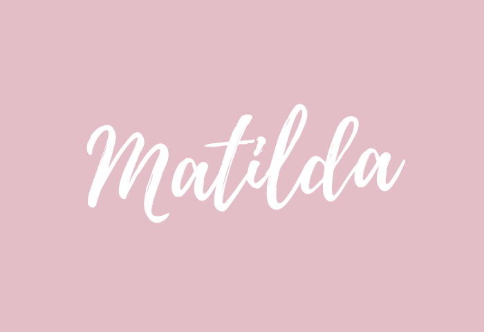 matilda name meaning