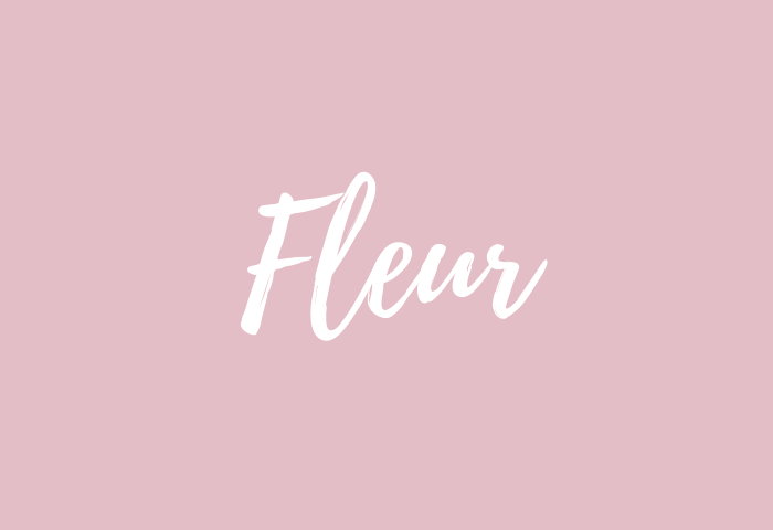 Fleur Name Meaning