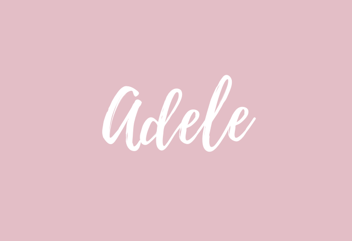 Adele Name Meaning