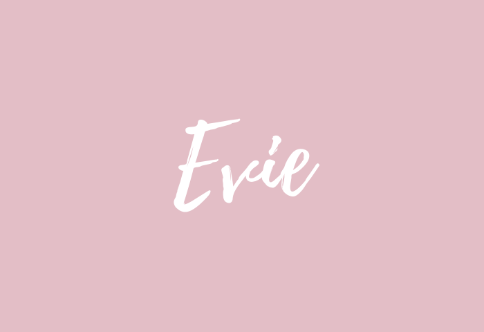 evie name meaning