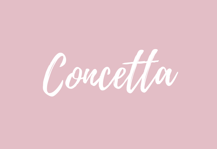 concetta name meaning