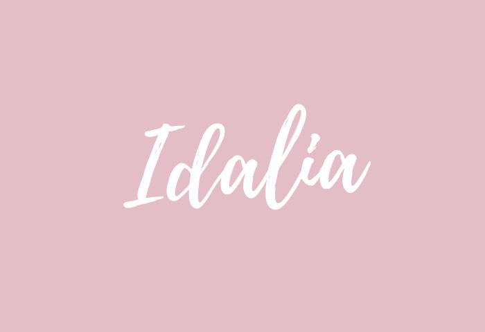 idalia name meaning