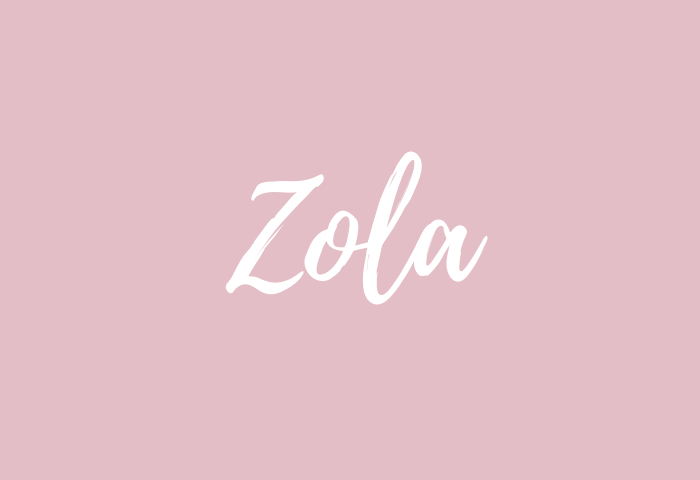 zola name meaning