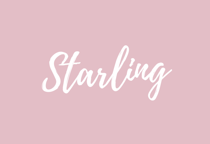 Starling name meaning