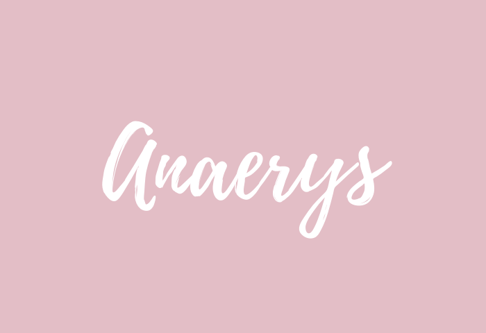anaerys name meaning