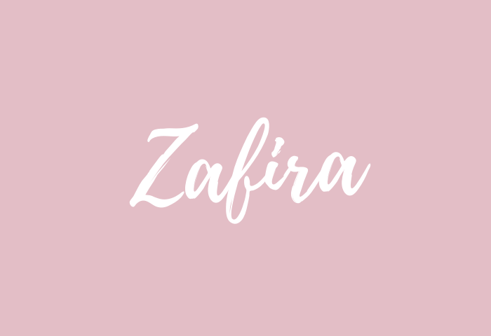 zafira name meaning