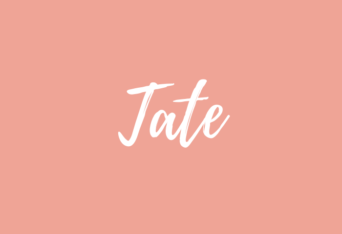 tate name meaning
