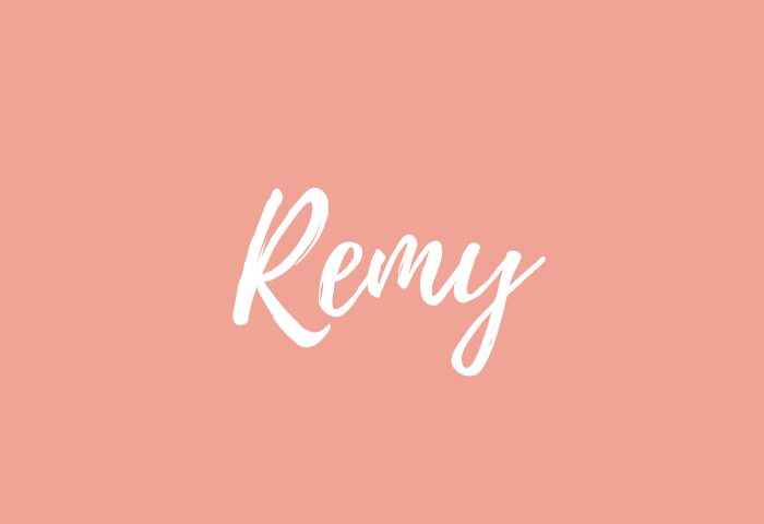 Remy Name Meaning
