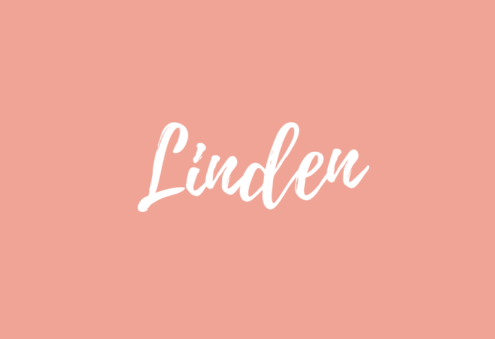 linden name meaning