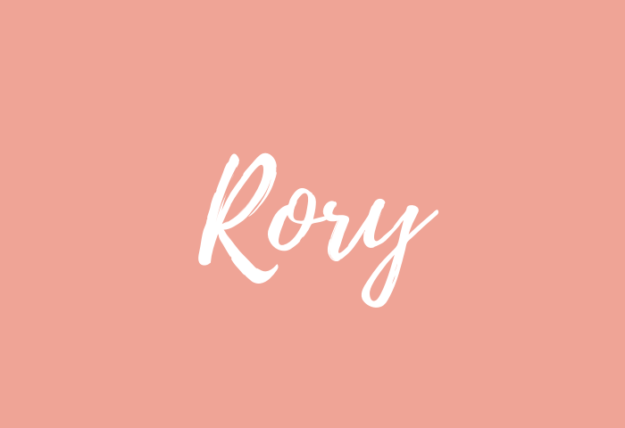 Rory Name Meaning