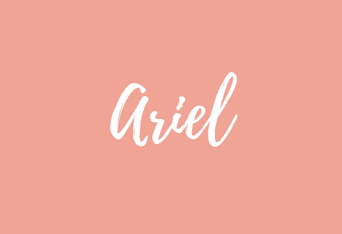 ariel name meaning