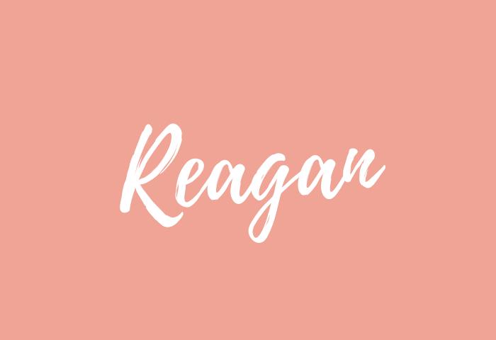 reagan name meaning